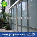 china vidro da janela metro quadrado para divisória do escritório