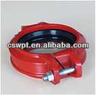 Quick flexible pipe coupling with FM/UL certificate