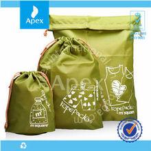 customized printed football drawstring bags