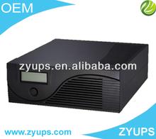 solar power inverter Pure sine wave inverter SINGLE PHASE 1200W LCD display