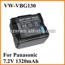 For Panasonic ge power lipo battery VW-VBG130