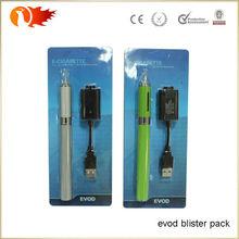 Most popular wholesale e cigarette evod blister package