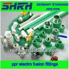 germany standard ppr heat pipe solar water heater