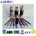 nuevo 2013 marina cable eléctrico cable tamaños
