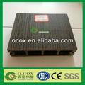 yüksek kalite wpc boş siyah plastik kompozit güverte tahtası h028145