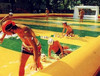 good quality inflatable water soccer pitch