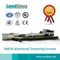 luoyang landglass plano de flexão e têmpera e revenimento forno