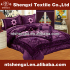 2014 New luxury bedding set home textile 3d embroidery king comforter sets with curtains patchwork double size comforter sets