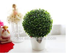 2014 yiwu Hot sales artificial grass ball hanging grass ball Christmas decoration