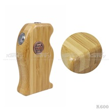 2014 new invention pure wood mod k600,k600 wooden mod ecig paypal accept