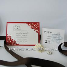 Timeless eco-friendly most popular design wedding card decoration items