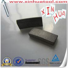 Taper (cone) shape Diamond core drill bit segments for concrete--Sharpness