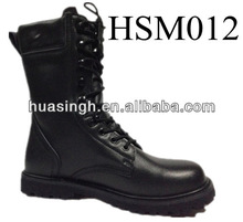 JY,stronghold defend durably water resistant 8'' full leather armed force fighting boots for army