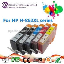 Cartuccia di inchiostro compatibile h-862xl pezzi di ricambio per stampante hp, con prezzo interessante
