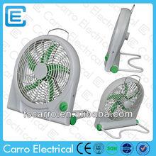 Popular portable mini handheld fan 10'' 12v dc fan small fans for sale