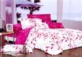 yeni stil pamuk renk kral yatak setleri 3d 3 adet top polyester mikrofiber kaynağı düğün yatak dekor dantel ipek yatak s