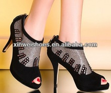Latest girls china shoe factory lady famous shoes brands in china