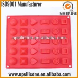 moldes de silicone para o concreto