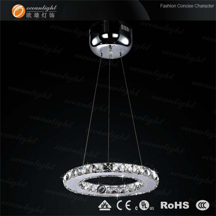 LED crystal chandelier,ring lighting leeds factory shop OM818-30