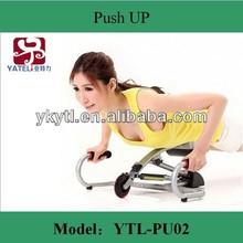 YaTeLi 2014 year new fitness push up pump/woman likes home use fitness Push-ups trainers/healthy abdominal machine