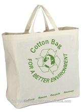 Eco friendly Cotton Canvas Carrier Bag