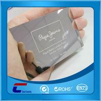 pure embossed metal business cards, engraved metal card