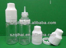 10ml Plastic E-juice Eye Dropper Bottles with Long Thin Tips and Child Proof Caps Wholesale