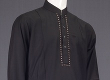 Mens Shalwar Kameez with stones Suits,High quality fashion mens shalwar kameez - Men's Shalwar Kameez Suit with Embroidery