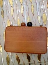New Design Wooden Evening Box Clutch Bridal Japen Clutch Party Bags