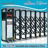Decorative iron gate doors of garden gate remote control pipe gate