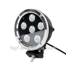 "7"" 60W super bright LED work light LED driving light offroad car/atv/utv"