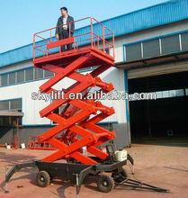 mobile telescoping hydraulic lift platform power:Ac/Dc diesel