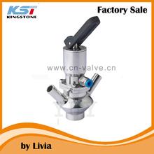 sanitary pneumatic aseptic sampling valve