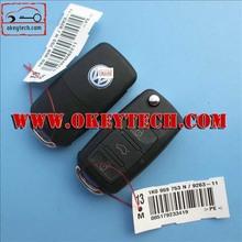 Top quality vw remeot key 3 button 1KO 959 753 N 433Mhz, ID48chip vw remeot key vw key