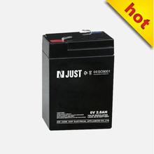 6v 2.8ah sealed battery dry batteries for ups