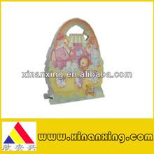 gift or shopping art paper bag for children