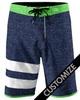 customzied sublimated fashion board shorts - Quick dry sublimated Board Shorts V-Land white Boardshorts brazilian board shorts