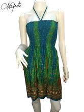 Wholesales Bohemian short peacock cheap apparels