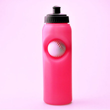 red pp material protein plastic water bottle wholesales 2014 summer activity
