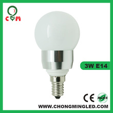 Led candle bulb Spotlight E14 Bulb 3X1W with light pipe Low Price good quality