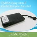 Alerta de baja potencia, corte del petróleo y de energía, fabricante real del vehículo de seguimiento gps tk06a