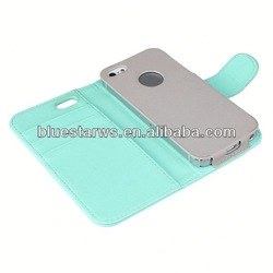 Direct factory price for iphone5 luxurious for iphone5 leather case