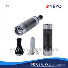 China wholesale e cigarette high quality e cig ego t2 clearomizer long wick 2.4ml capacity