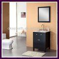 Nouveau design blanc autoportante. armoire de toilette okbs- us10
