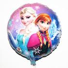 "18"" FROZEN Round Foil Balloons Elsa Films Cartoon Character Games"