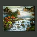 As famosas atracções turísticas de alta qualidade pura mão- pintura a óleo pintado home decorativa paisagem paintingnatural landscap