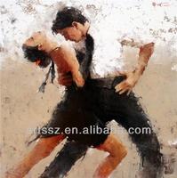 dance couple painting retail supplier