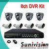 SUNIVISIN Factory! Sony 700tvl Metal 8ch old security cameras