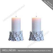 Candela pilastro bianco per la chiesa/matrimonio