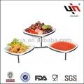 السيراميك تصميم جديد y2135-1ab مطعم أواني الطعام مجموعات